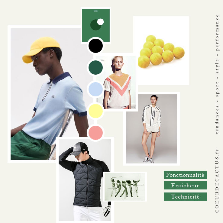 styliste golf outfit